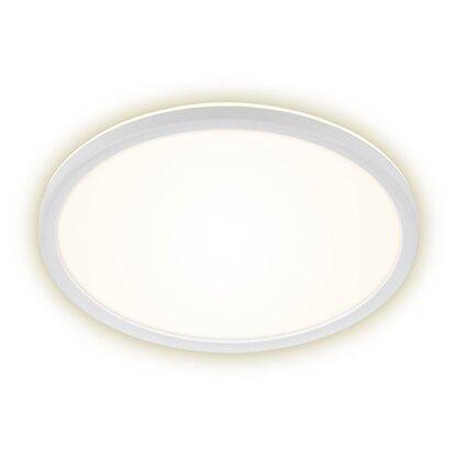 Briloner LED panel s podsvietením plochý guľatý biely, 18 W