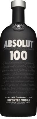 Absolut 100 Vodka 50% 1,00 L