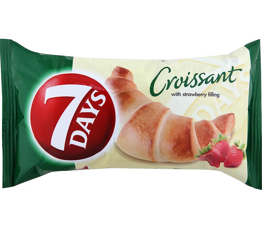 Croissant s náplňou