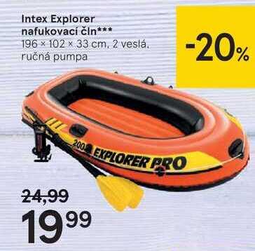 Intex Explorer nafukovací čln