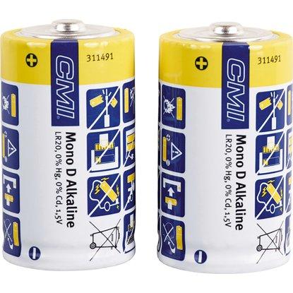 CMI Alkalická batéria Mono D sada, 2 ks