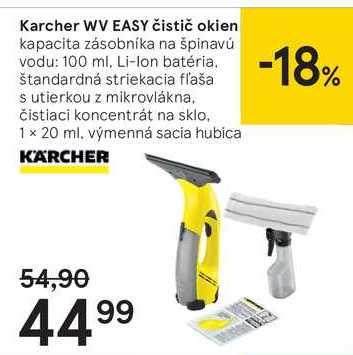 Kärcher WV EASY čistič okien