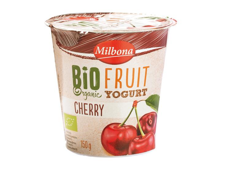 Bio ovocný jogurt