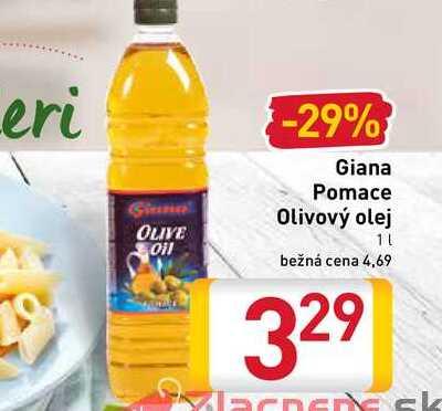 Giana Pomace Olivový olej 1 l