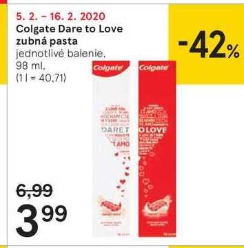 Colgate Dare to Love zubná pasta, 98 ml