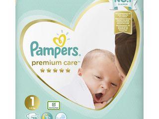 Pampers premium care S1 detské plienky 1x78 ks
