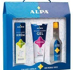 Alpa Set francovka + gél + krém