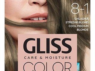 Schwarzkopf Gliss Color farba na vlasy 8-1 chladná stredná blond 1x1 ks