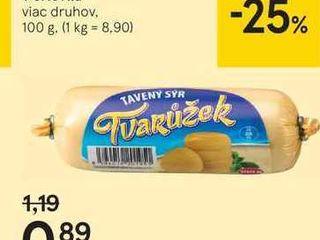 Olomoucké tvarôžky v črievku, 100 g