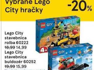 Obrázok Lego City stavebnica rolba 60222