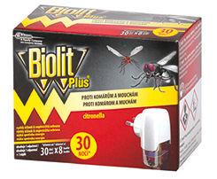 Obrázok Biolit elektrický odparovač proti komárom a muchám + tekutá náplň