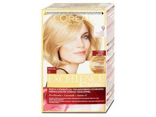 L'Oréal Excellence farba na vlasy 9 blond veľmi svetlá 1x1 ks