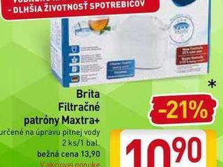 Brita filtračné patróny Maxtra+ 2 ks