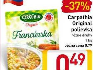 Carpathia Original polievka
