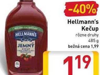 Obrázok   Hellmann's Kečup 485 g