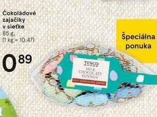 Obrázok Čokoládové zajačiky v sieťke, 85 g