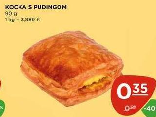 KOCKA S PUDINGOM 90 g