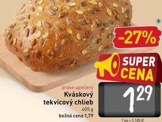 Obrázok   Kváskový tekvicový chlieb  405 g
