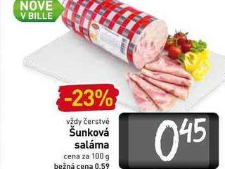 Šunková saláma 100 g
