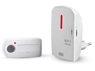 Elektrobock bezdrôtový zvonček BZ11 biely