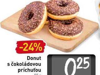 Obrázok Donut s čokoládovou príchuťou 55 g