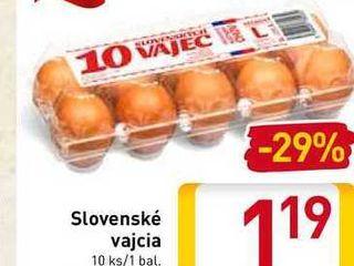 Slovenské vajcia 10 ks