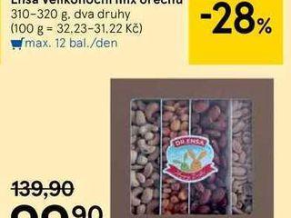 Ensa Velikonoční mix ořechů, 310 g