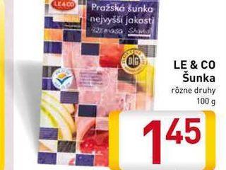 Obrázok Le & Co šunka 100 g