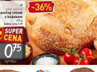 Pšeničný chlieb s kváskom  425 g
