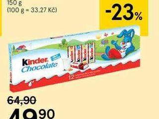 Kinder čokoláda, 150 g