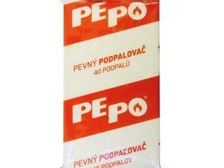 PE-PO Pevný podpaľovač fólia 40 podpalov