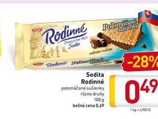 Sedita Rodinné 100 g