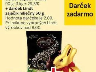 Obrázok Lindor vajíčka tmavé, 90 g