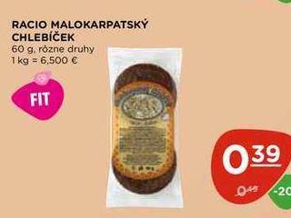 RACIO MALOKARPATSKÝ CHLEBÍČEK 60 g
