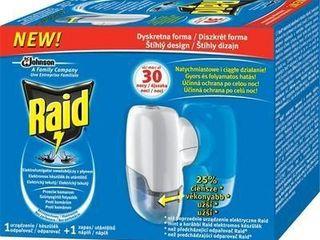 Raid elektrický odparovač s tekutou náplňou 30 nocí 1x1 ks