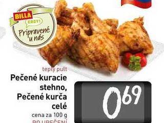 Obrázok   Pečené kurča /stehno 100 g