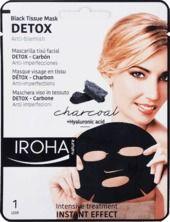Obrázok Textilná pleťová maska na pleť Detox s aktívnym uhlím, 23 ml