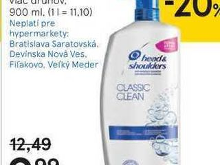 Head & Shoulders šampón na vlasy, 900 ml