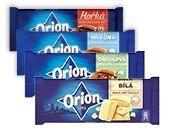 Obrázok Orion čokoláda 4 druhy 100 g