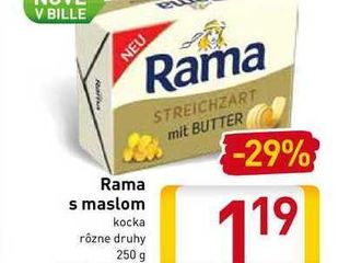 Rama s maslom 250 g