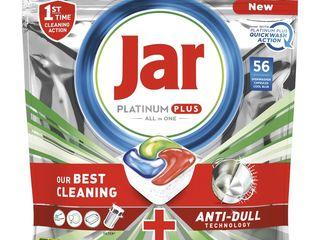 Jar Platinum Plus Quickwash Action tablety do umývačky riadu 1x56 ks