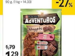 Adventuros pochúťka pre psy, 90 g