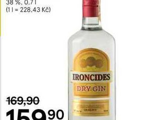 obrázek Ironcides Dry Gin, 0,7 l