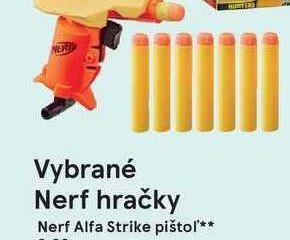 Nerf Alfa Strike pištol