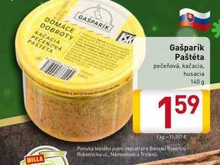 Obrázok  Gašparík Paštéta 140 g