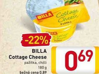 BILLA Cottage Cheese  180 g