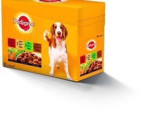 Pedigree kapsičky pro psy 12x100g, vybrané druhy
