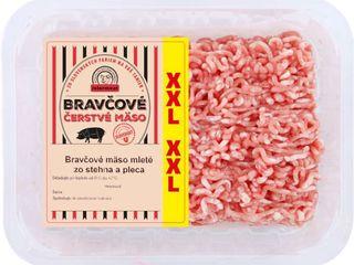 Mleté bravčové mäso XXL