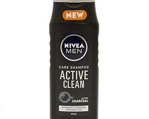 Nivea Active Clean pánsky šampón na vlasy 1x250 ml