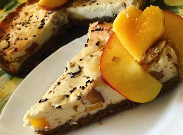 Zdravý Marhuľový Cheesecake